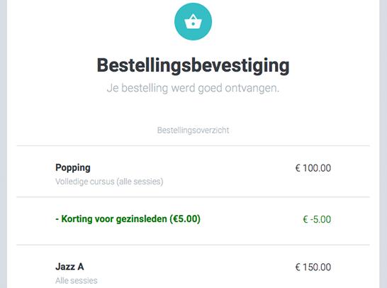 bestelling